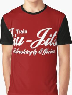Train Jiu Jitsu - Refreshingly Effective Graphic T-Shirt