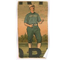 Benjamin K Edwards Collection Jimmy Ryan Chicago White Stockings baseball card portrait Poster