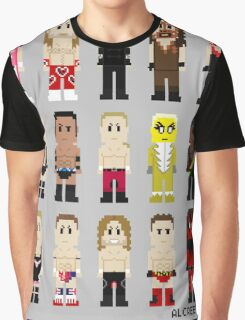 8-Bit Wrestlers '97! Graphic T-Shirt