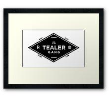 Tealer gang Framed Print