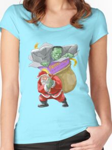 All I Want For Christmas Is A Misunderstood Monster Women's Fitted Scoop T-Shirt