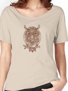 Cute Owl Women's Relaxed Fit T-Shirt