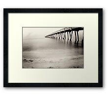 cry for a shadow. Framed Print