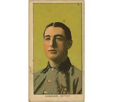 Benjamin K Edwards Collection Wild Bill Donovan Detroit Tigers baseball card portrait 002 Photographic Print