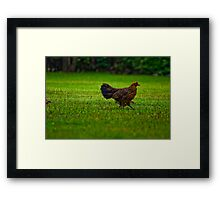 I am waiting that dude who still practicing the Tango! Crookkk.... Framed Print