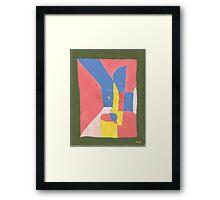 room7-1987 Framed Print