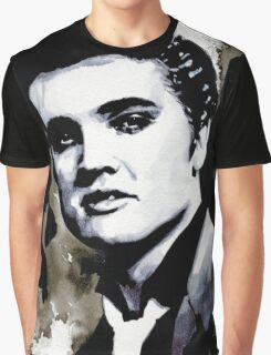 ELVIS PRESLEY - GREASER, 1956 Graphic T-Shirt