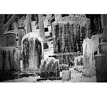 Old Gray Cemetery-1880 Photographic Print