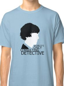 World's Only Consulting Detective V2 (for light coloured tops) Classic T-Shirt