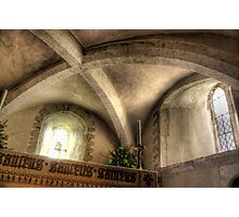 Altar of St Nicholas, Compton Photographic Print