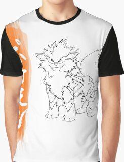 arcanine Graphic T-Shirt