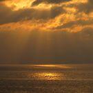 Golden Sunset at the Bahía de Banderas - Puesta del Sol Dorada by PtoVallartaMex