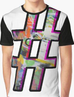 Hashtag Graphic T-Shirt