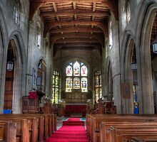 Inside St. Margarets by Alf Myers