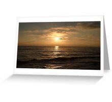 Calm Seas Greeting Card