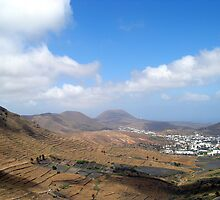 Lanzarote Landscape by Fara