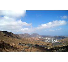 Lanzarote Landscape Photographic Print
