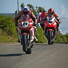 Gillies Leap - Skerries 100 by ImageMoto  by Nigel Bryan