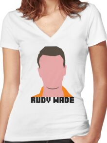 Rudy Wade Women's Fitted V-Neck T-Shirt