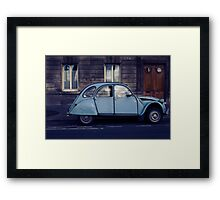 its french for automobile!! Framed Print