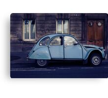 its french for automobile!! Canvas Print