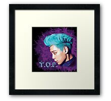 T.O.P ~ Big Bang Framed Print