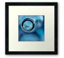 Empty Blue.... Framed Print