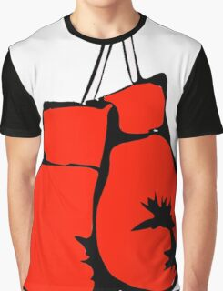 Hanging Boxing Gloves Graphic T-Shirt