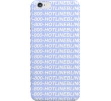 Blueline Bling iPhone Case/Skin