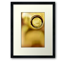 Empty Yellow.... Framed Print