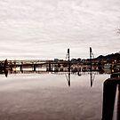 Hawthorne Bridge by Benjamin Sloma