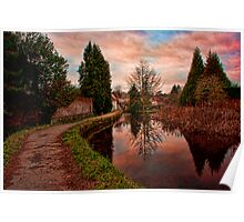Loose - Reflections In The Mill Pond Poster