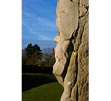 Faces in the Stones 3 Photographic Print
