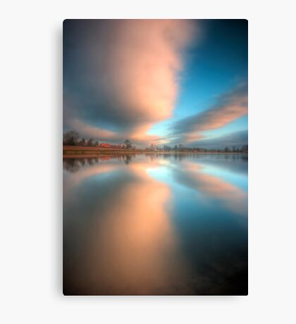 Outwoods Lake 4.0 Canvas Print