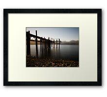 Lake Te Anau - Southland - New Zealand Framed Print