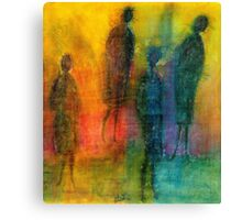 The Angels Among Us Canvas Print