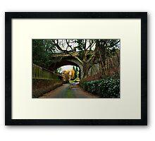 Loose - Salts Lane & Viaduct Framed Print