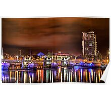 Belfast Reflections Poster