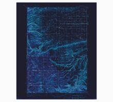 USGS Topo Map Washington State WA White Swan 244668 1937 125000 Inverted One Piece - Short Sleeve