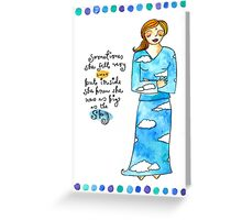 Sky Spirit Greeting Card