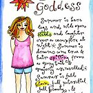 Summer Goddess by GoddessLeonie