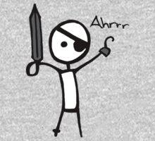 Yaaaaaarrrrrrr!  One Piece - Long Sleeve