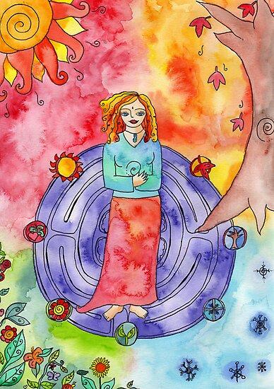 Wheel of the Year by GoddessLeonie