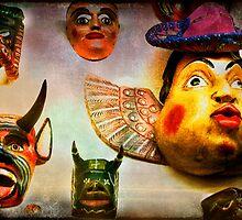 Mascaras by Anne  McGinn