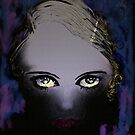 Blue Gaze - She's got Bette Davis eyes by Trish Loader