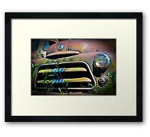 Old Dodge Framed Print