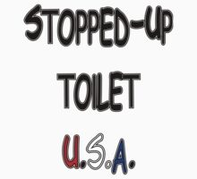 stopped-up toilet U.S.A. by frankshooter