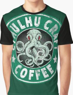 Cthulhu Craft Coffee Graphic T-Shirt