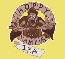 Hoppy Vampire IPA - Chocolate Stout Edition Kids Tee