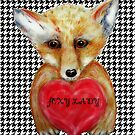 Little Fox - Foxy Lady by Trish Loader